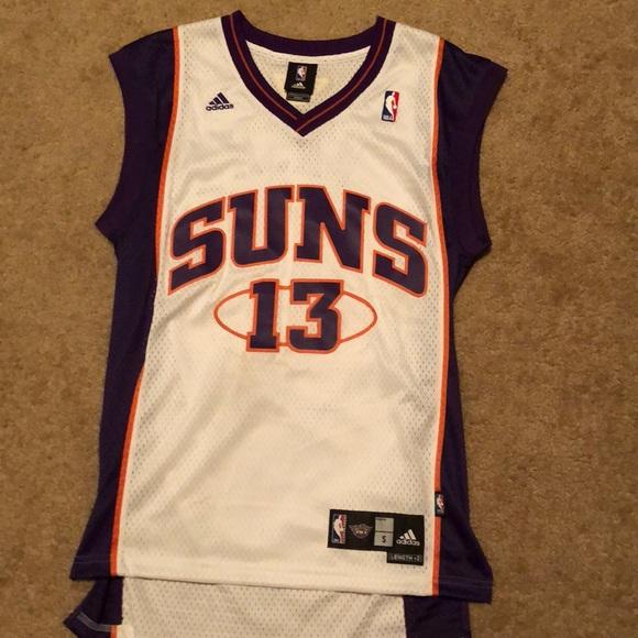 wholesale dealer 08fdc 262f7 Retro Phoenix Suns Steve Nash Jersey